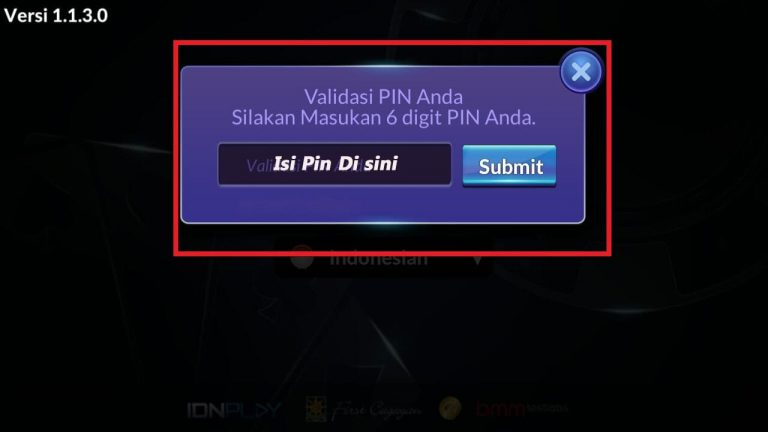 Login Idn Play Android